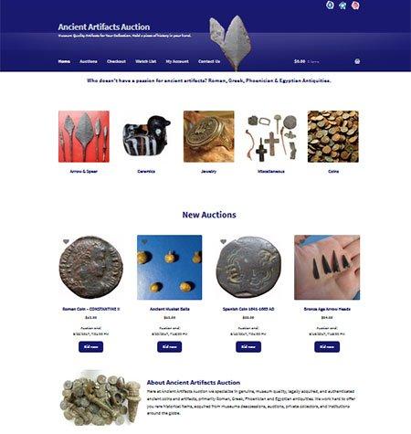 Ancient Artifacts Auction
